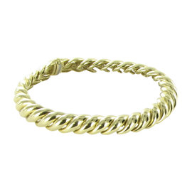 David Yurman 18K Yellow Gold Hampton Cable Bracelet