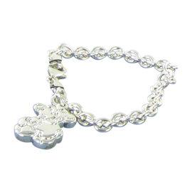 Tous 925 Sterling Silver Sweet Dolls Links Bear Charm Bracelet