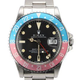 Rolex GMT-Master 16750 Stainless Steel Automatic Vintage 40mm Mens Watch 1987