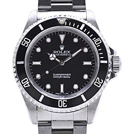 Rolex Submariner 14060 Nonpolitol Tritium Stainless Steel 40mm Mens Watch
