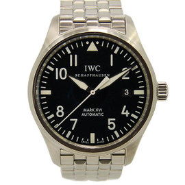 IWC IW325504 Mark 16 Stainless Steel Black Dial Automatic 39mm Mens Watch
