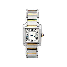 Cartier Tank Francais W2TA0003 34mm Womens Watch