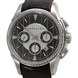 Hamilton Aqua Riva Chronograph H346160 Brown Dial Stainless Steel 45mm Mens Watch