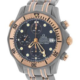 Omega Seamaster 2296.80.00 Titanium & 18K Rose Gold Automatic 41mm Mens Watch