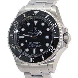 Rolex Sea Dweller Deepsea 116660 Black Dial Stainless Steel 43mm Mens Watch