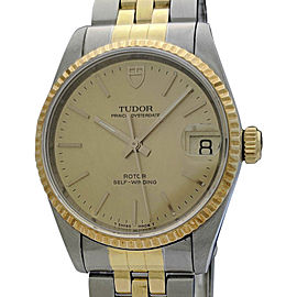 Tudor Prince Date 72033 34mm Mens Watch