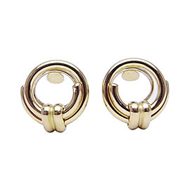 Chaumet 750 Yellow Gold Clip Earrings