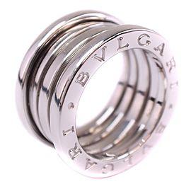 Bulgari B.zero1 18K White Gold Ring Size 4.25