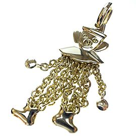 Pomellato 18K Yellow Gold Clown Pendant