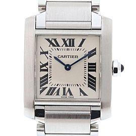 Cartier Tank Francaise W51011Q3 25mm Mens Watch