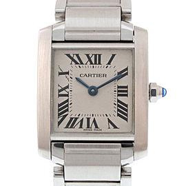 Cartier Tank Francaise SM W51008Q3 25mm Womens Watch
