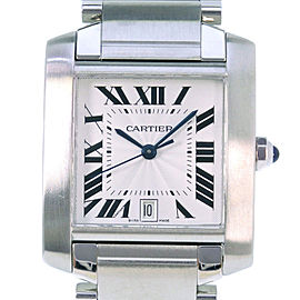 Cartier Tank Francaise W51002Q3 32mm Unisex Watch