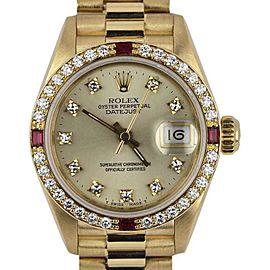 Rolex Datejust 69068 26mm Womens Watch