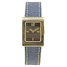 Christian Dior Maris Square D78-159 19mm Womens Watch