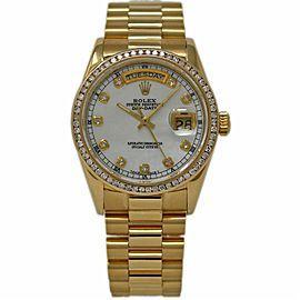 Rolex Day-date 18048 36mm Mens Watch