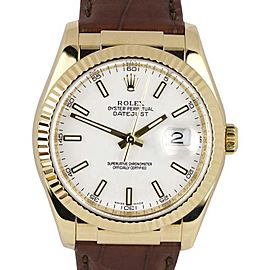 Rolex Datejust 116138 36mm Womens Watch