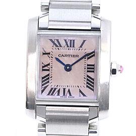 Cartier Tank Francaise W51028Q3 20mm Womens Watch