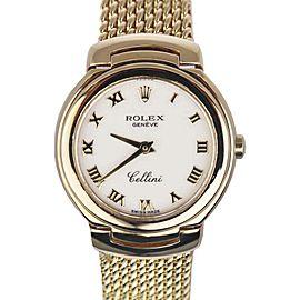 Rolex Cellini Geneve 6621 26mm Womens Watch
