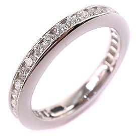 Harry Winston Platinum Eternity Ring Size 4.5