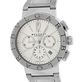 Bulgari Diagono BB.42.SS.CH 42mm Mens Watch