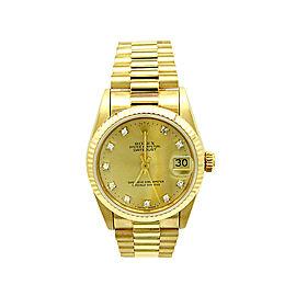 Rolex President Datejust 68278 Womens 31mm Watch Rolex