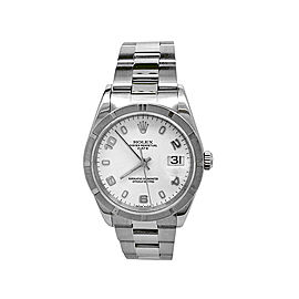 Rolex Oyster Perpetual Date 15210 Unisex 34mm Watch
