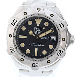 Tag Heuer Super Professional Mens 40mm Watch