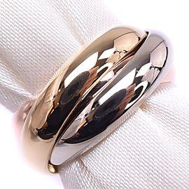 Cartier 18K Trinity Ring Size 3.75