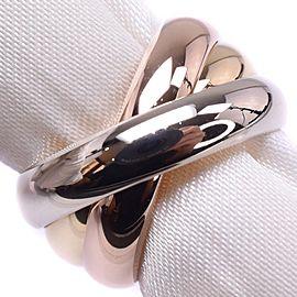 Cartier 18K Trinity Ring Size 4.75