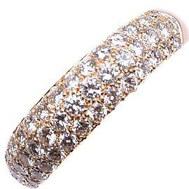 Van Cleef & Arpels 18K YG Ring Size 3