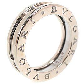 Bulgari 18K WG Be Zero One Ring Size 4.75