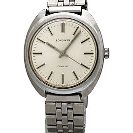 Longines Conquest 1500-4 Vintage 36mm Mens Watch 1975