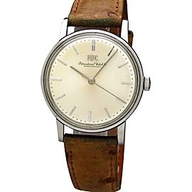 IWC Vintage 89 1214 34mm Mens Watch 1969