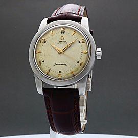 Omega Seamaster 2577-11SC 1952 Vintage 34mm Mens Watch
