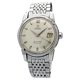 Omega Seamaster Calendar CK2849 1960 Vintage 34mm Mens Watch