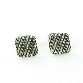John Hardy Naga Cufflinks 18mm Wide Darkened Sterling Silver