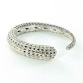 John Hardy Classic Chain Small Kick Cuff Bracelet Sterling Silver