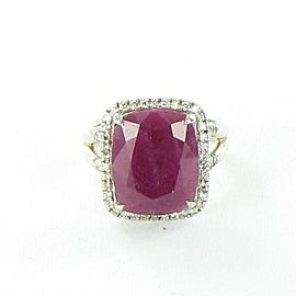 John Hardy Classic Chain Ring Magic Cut Ruby Diamond 0.30cts Sterling
