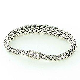 John Hardy Classic Chain 11mm Graduated Bracelet Sterling Silver BB999572XM
