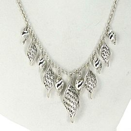 John Hardy Classic Chain Wave Necklace Sterling Silver NB90071X16-18