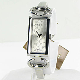 Gucci 119 Tornabuoni YA119507 Silver Diamond Dial Stainless Steel Ladies Watch