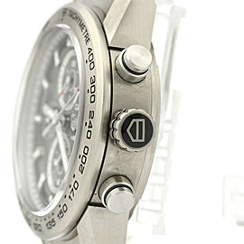 TAG HEUER Carrera Calibre 01 Chronograph Titanium Mens Watch CAR208Z