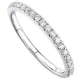 Rachel Koen Diamond Ring in 18K White Gold 0.26 ct. tw.