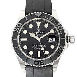Rolex Yacht-Master 42mm White Gold Black Dial Automatic Mens Watch 226659