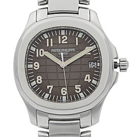 Patek Philippe Aquanaut Steel Black Dial Automatic Mens Watch 5167/1A-001