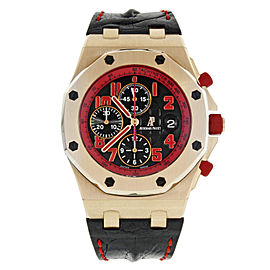 Audemars Piguet Royal Oak Offshore 26299OR.OO.D001GA.01 18K Rose Gold Watch