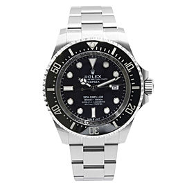 Rolex Sea-Dweller Deepsea 126660 Black Dial Steel Automatic Mens Watch