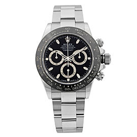 Rolex Daytona Chronograph Steel Ceramic Black Dial Automatic Mens Watch 116500LN
