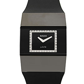 Rado Jubile V10K Ceramic High-Tech Diamond Quartz Ladies Watch 964.0621.3.070