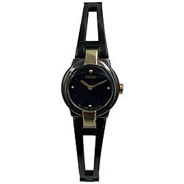 Seiko Women's SUJA80 Dress Black Ion Plated Quartz Watch